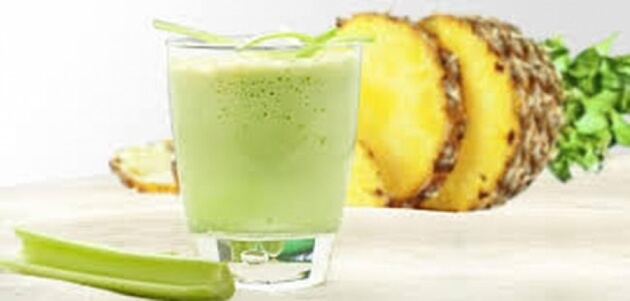 Celery-and-pineapple